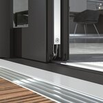 Barrier-free thresholds with Schüco windows, doors and sliding systems